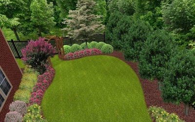 Nicely landscaped property in Portsmouth, VA